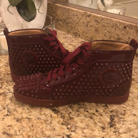 3d8385c27c3 Christian Louboutin men's spiked sneakers
